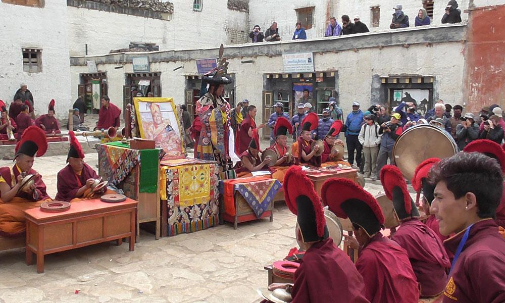 Tiji Festival in Upper Mustang.